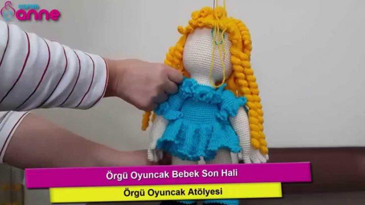 Örgü Oyuncak Bebek Yapılışı Anlatımlı