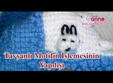 Tavşanlı Motifin İşleme Yapılışı