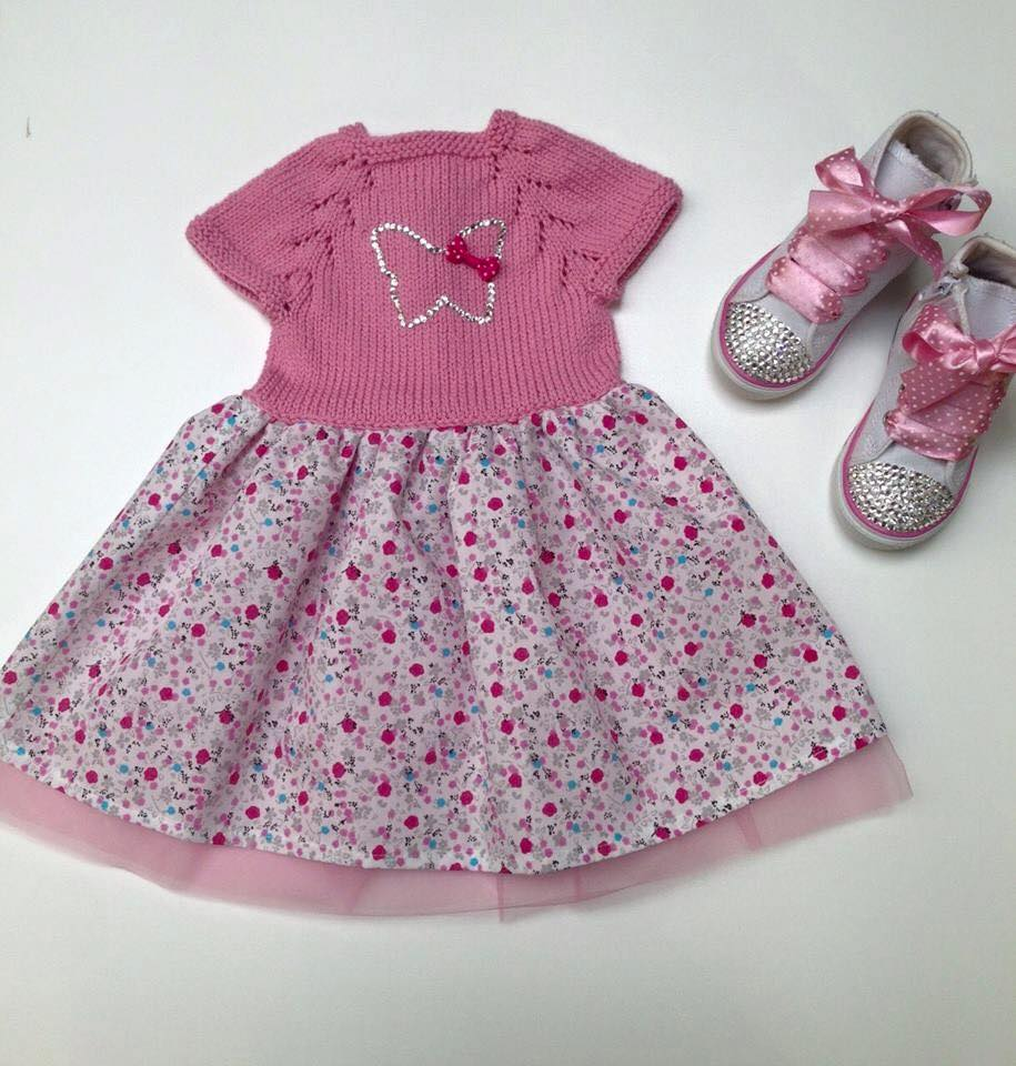 Kız Bebek Elbise Modelleri (1)