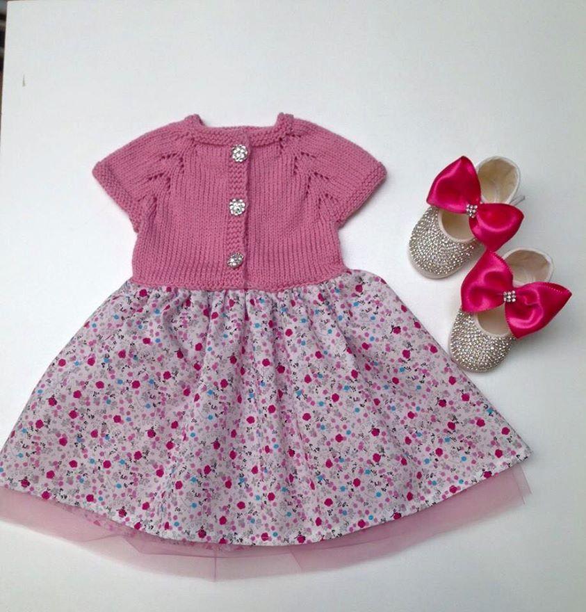 Kız Bebek Elbise Modelleri (2)