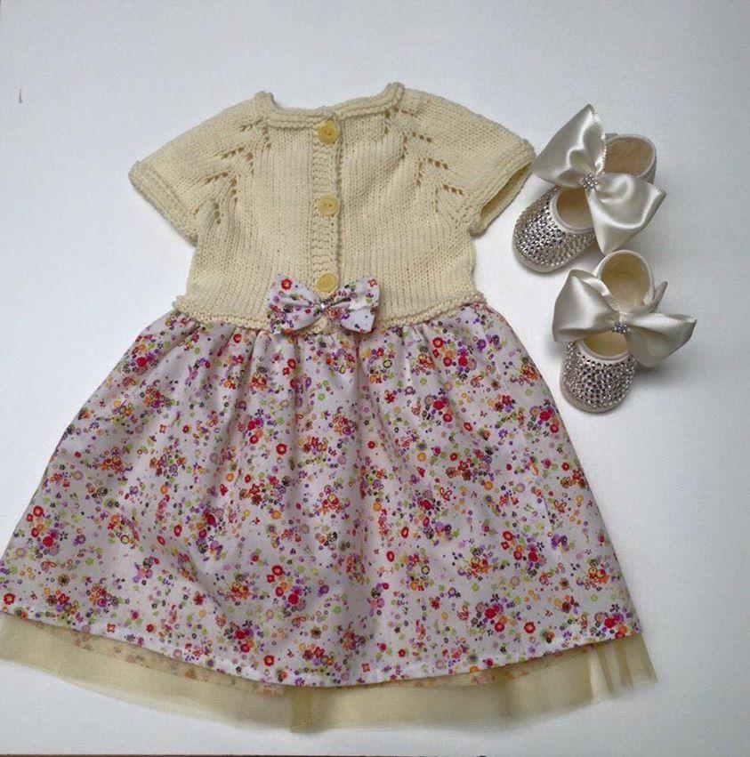 Kız Bebek Elbise Modelleri (3)