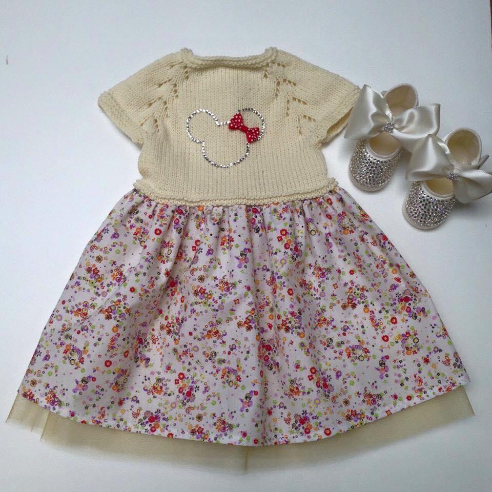 Kız Bebek Elbise Modelleri (4)
