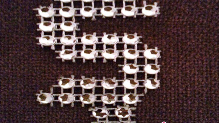 Şerit Boncuk ile Ş Harf Kesimi Yapımı