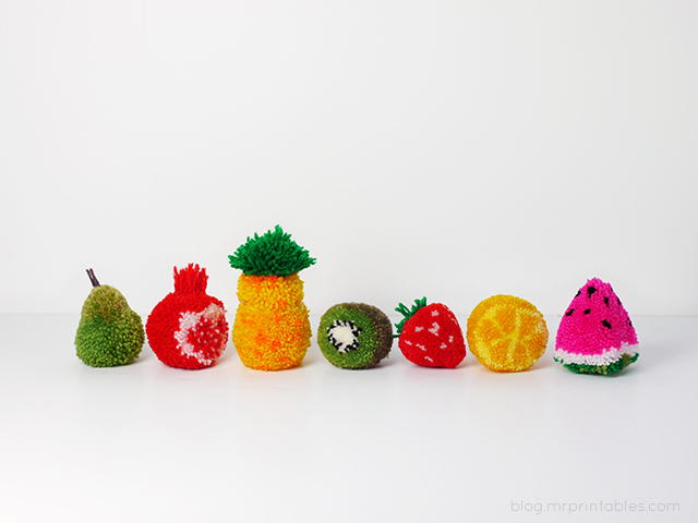 Ponpon Meyve Yapımı