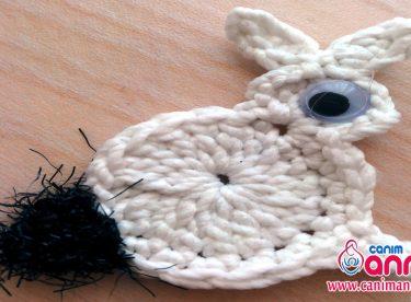 Tığ İşi Tavşan Figürü Yapımı-1