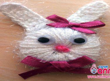 Tığ İşi Tavşan Figürü Yapımı -2