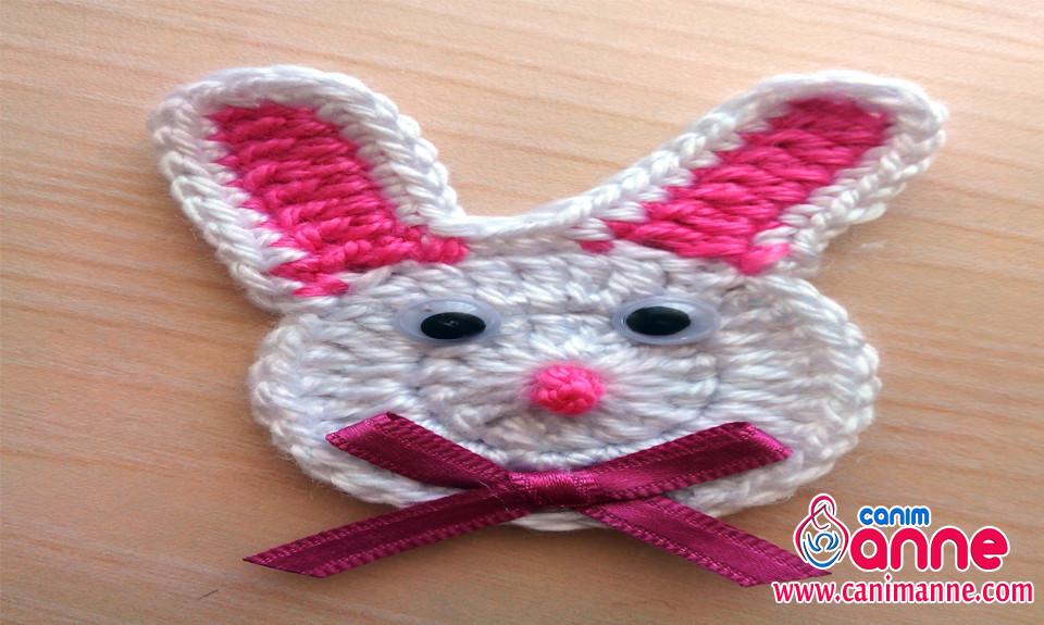 Tığ İşi Tavşan Figürü Yapımı -3