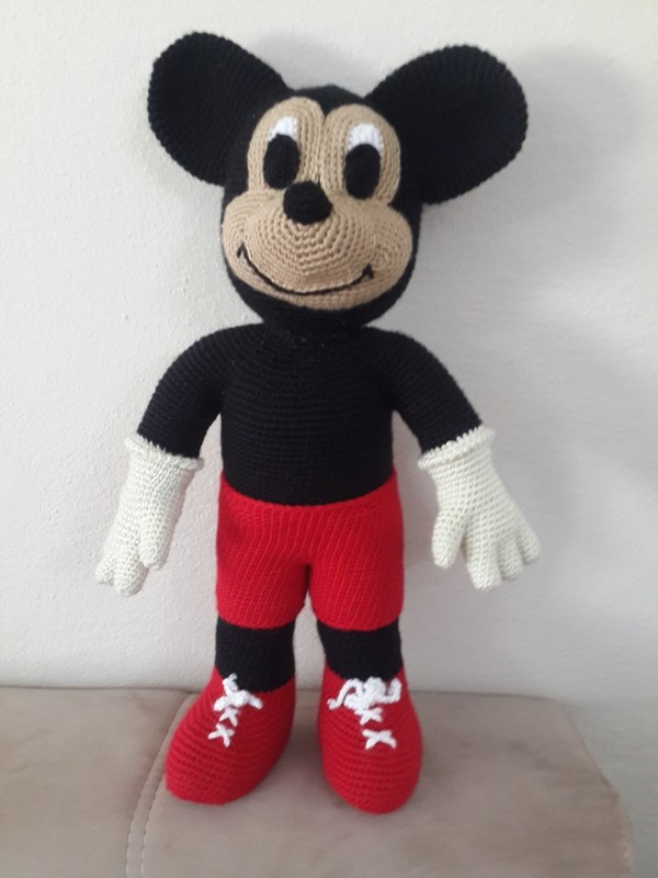 Amigurumi Mickey Mouse Yap?l??? - Can?m Anne - ?rg? ...