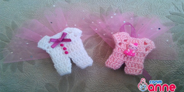 Bebek Şekeri Yapımı Kız Bebekler için