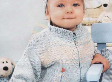 Şık Bebek Örgü Modeleri
