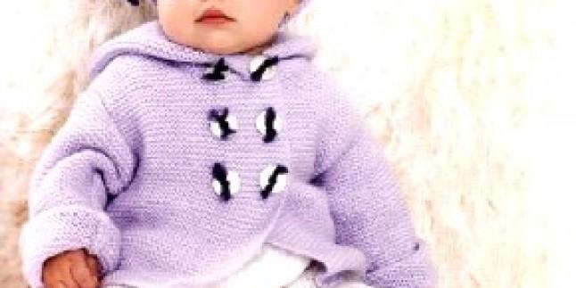 Bebek Örgü Hırka Takımı