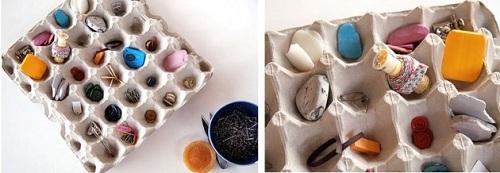 Yumurta Kartonu İle Organizatör