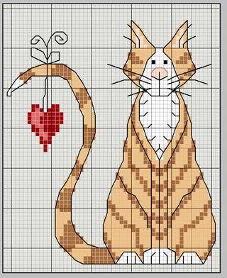 Kanaviçe Kedi (11)