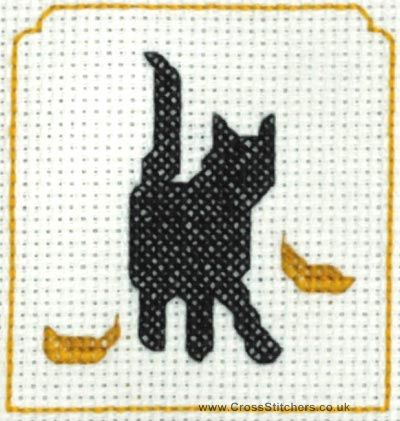 Kanaviçe Kedi (14)