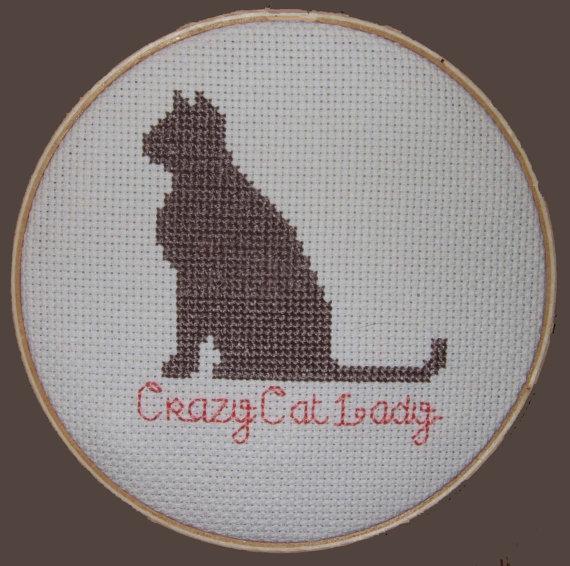 Kanaviçe Kedi (26)