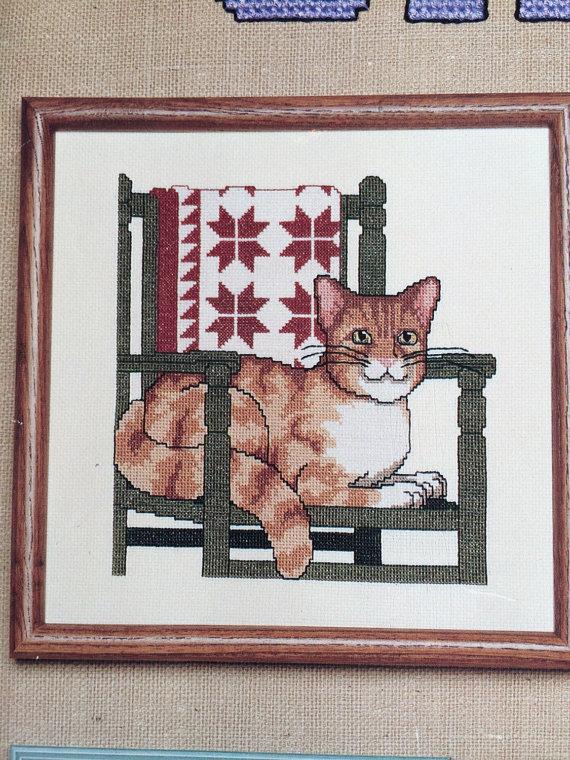 Kanaviçe Kedi (56)