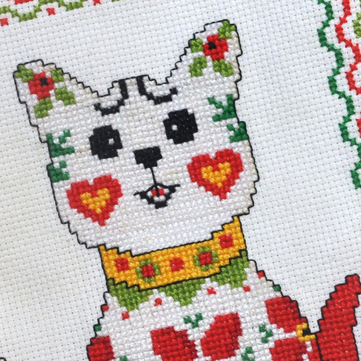 Kanaviçe Kedi (81)
