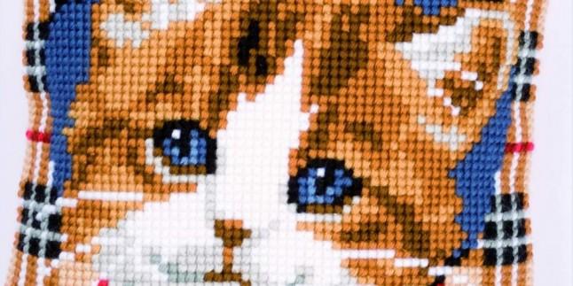 Kanaviçe Kedi Modelleri