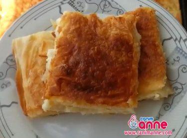 Yufkadan Peynirli Börek Yapılışı