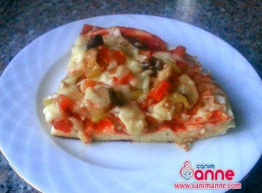 Yufkadan Tavada Pizza