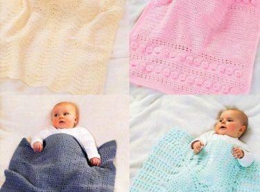 Bebek Battaniyesi Örgü Modelleri 150 Adet