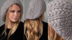 Örgü Bayan Bere ve Şapka Modelleri 2016