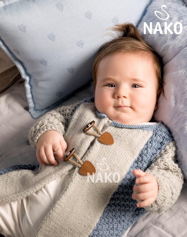 Örgü Bebek Hırka Modeli Yapılışı (1)