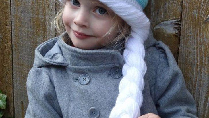 Elsa Örgü Bere Modeli / Frozen Hat Crochet
