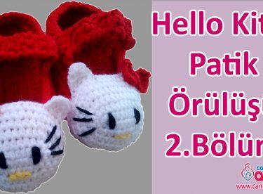 Hello Kitty Patik Örülüşü 2.Bölüm