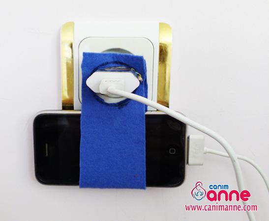 Keçe ile Cep Telefonu Şarj Ünitesi Yapımı
