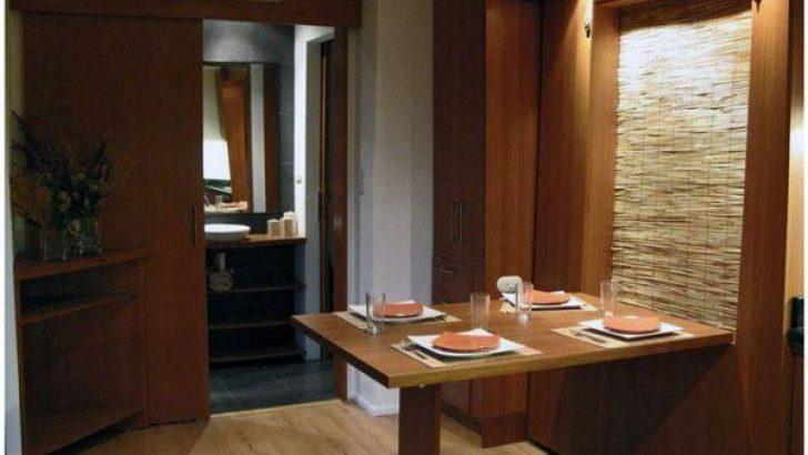 Duvara Monteli Mutfak Masası Fikirleri
