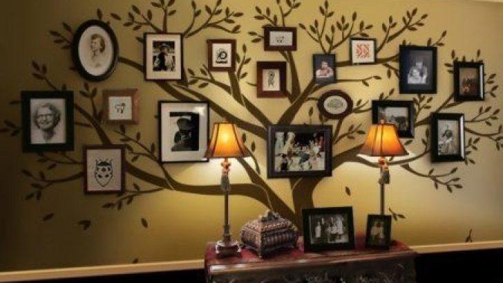 Fotoğraf Çerçeveleri ile Soy Ağacınızı Oluşturun
