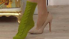 2 şişle çorap örmek