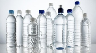 Group Of Mineral Water Bottles