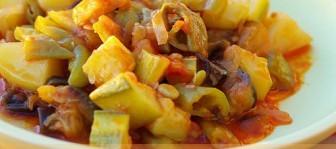 zeytinyağlı türlü tarifi1