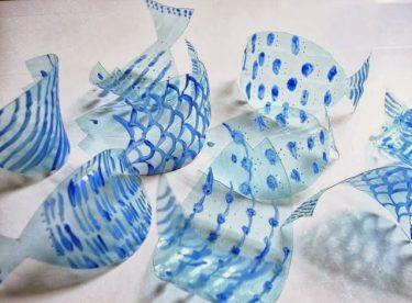 Plastik Şişelerle Dekoratif Gereçler