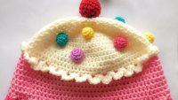 Tığ İşi Bebek Şapka Modeli