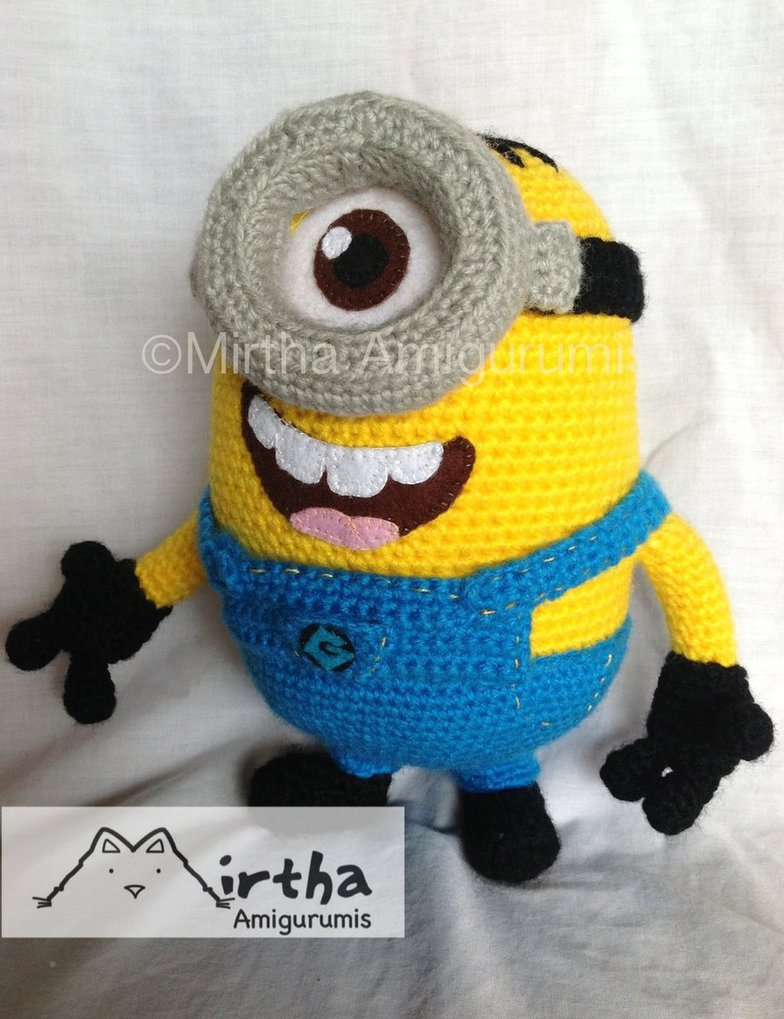 Minion Free Crochet Pattern Collection All The Best Ideas | Minion ... | 1019x784