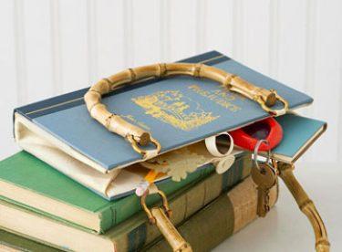 Eski Kitaplardan El Çantası Yapımı
