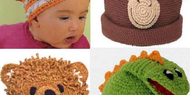 2017 Örgü Erkek Çocuk Şapka ve Atkı Modelleri