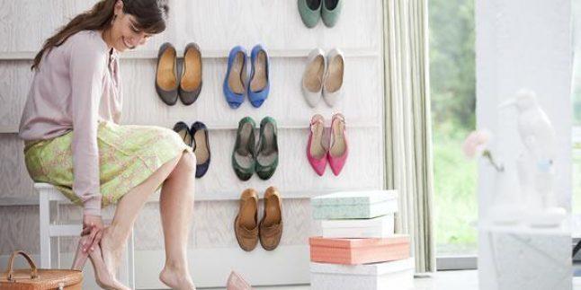 Ayakkabı Duvarı Yapmanın Yolu