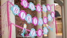 Çocuğunuzun Doğum Günü için 12 İlginç Süsleme Fikri