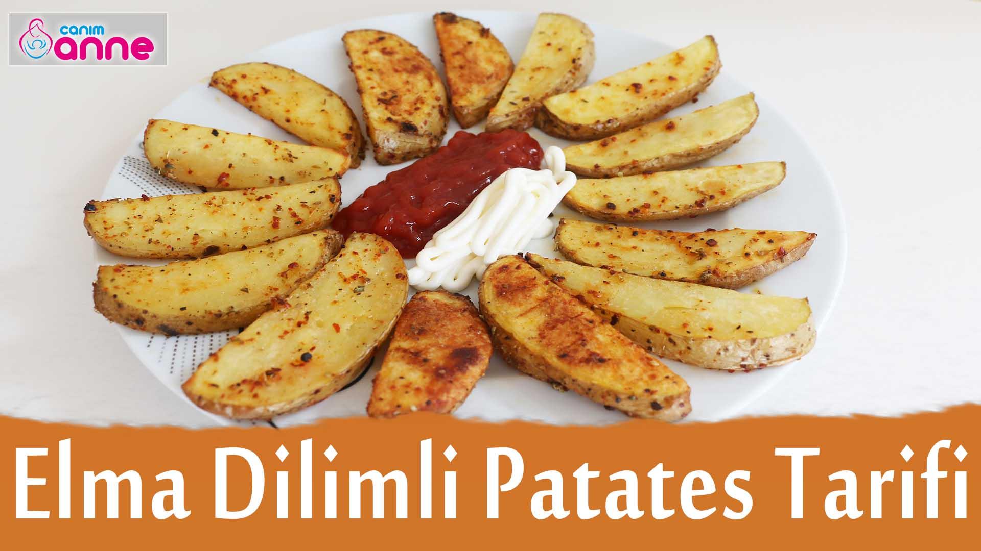 Fırında Elma Dilimi Şeklinde Patates Kızartması Tarifi ...