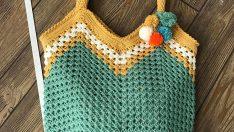 Koton İp ile Çanta Yapımı