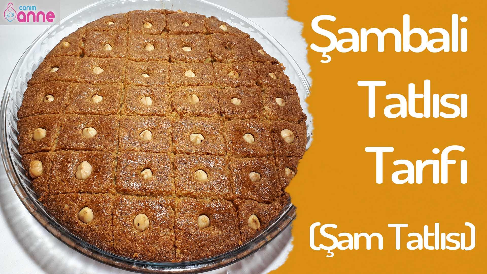 Şam Tatlısı – Şambali