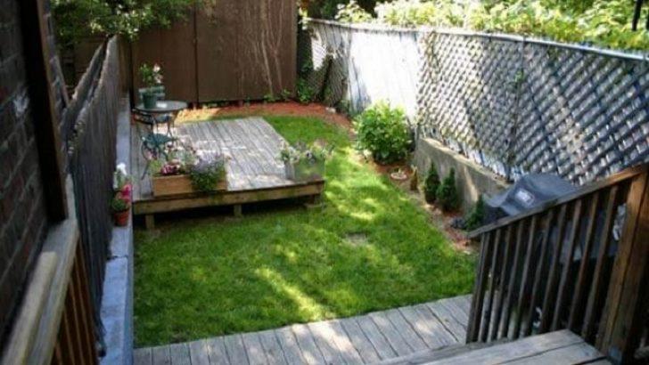 Bahçenizi Geniş ve Rahat Hale Getirecek 6 Fikir