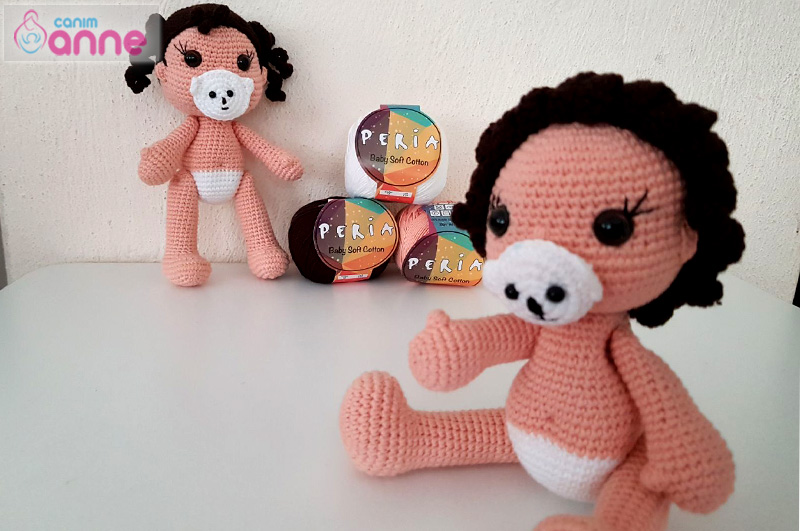 Amigurumi Emzikli Bebek Tarifi | Amigurumi oyuncak bebek, Bebek ... | 531x800