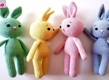 Amigurumi Tavşan Yapımı – Örgü Oyuncak