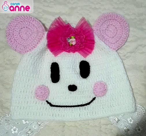 Bebek yüzlü şapka yapımı