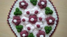 Pofuduk çiçekli lif modeli yapımı